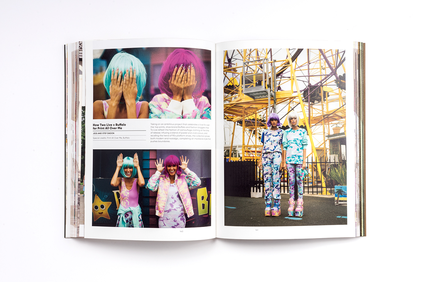 book book design graphics print Fashion  editorial