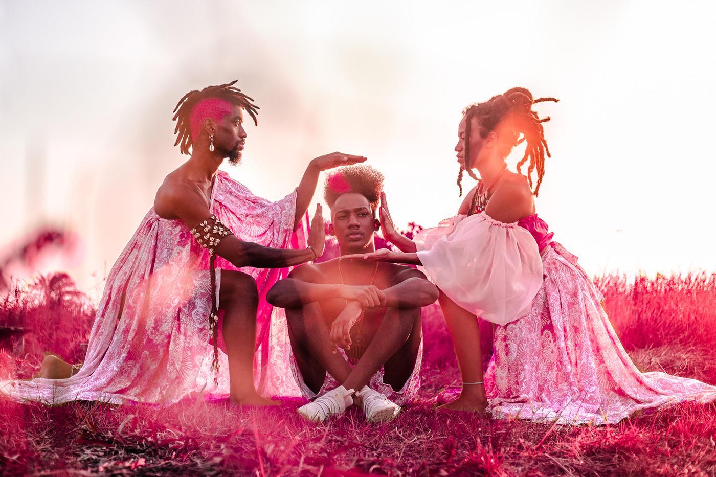 afro artistic artistico BLACKINKING Direção Artística Fashion  fotografía de arte retrato