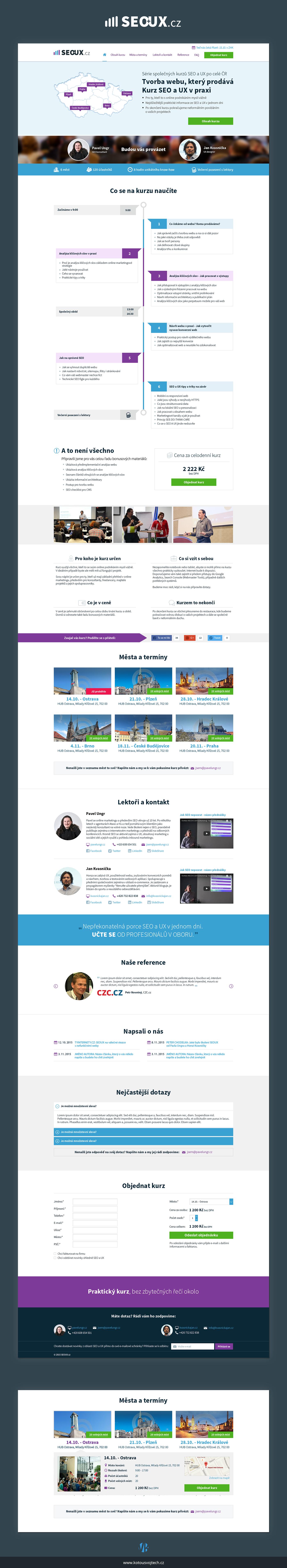 Webdesign ux SEO
