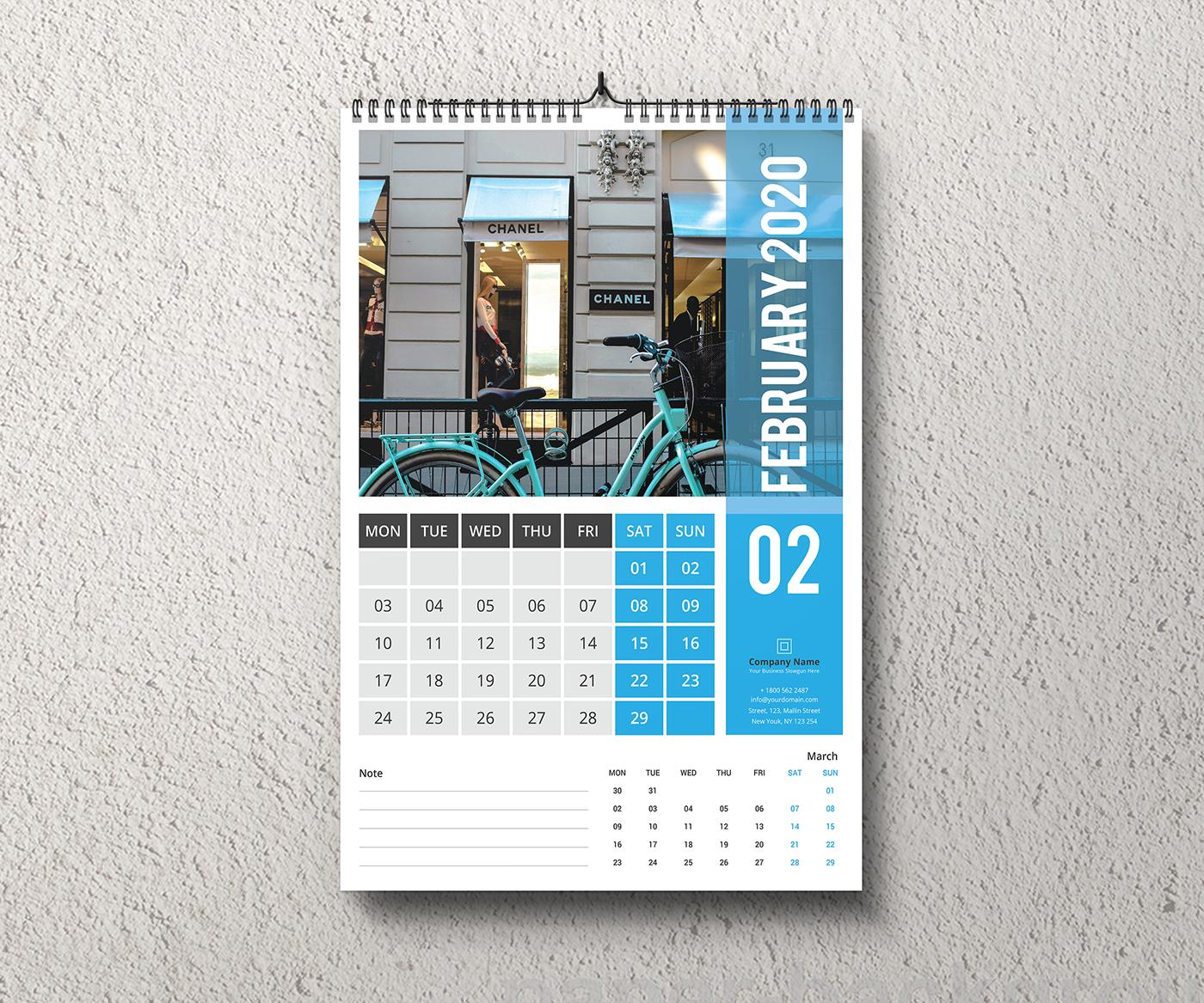 有創意感的18張日曆設計欣賞