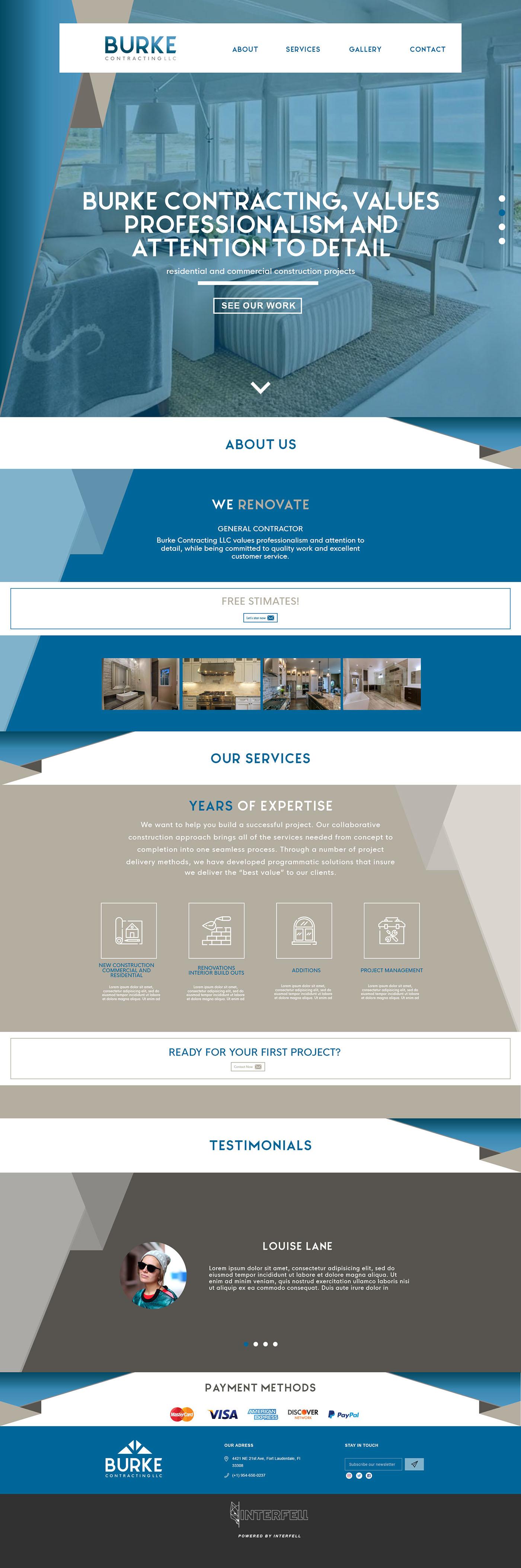 design Interface UI ux Web graphic