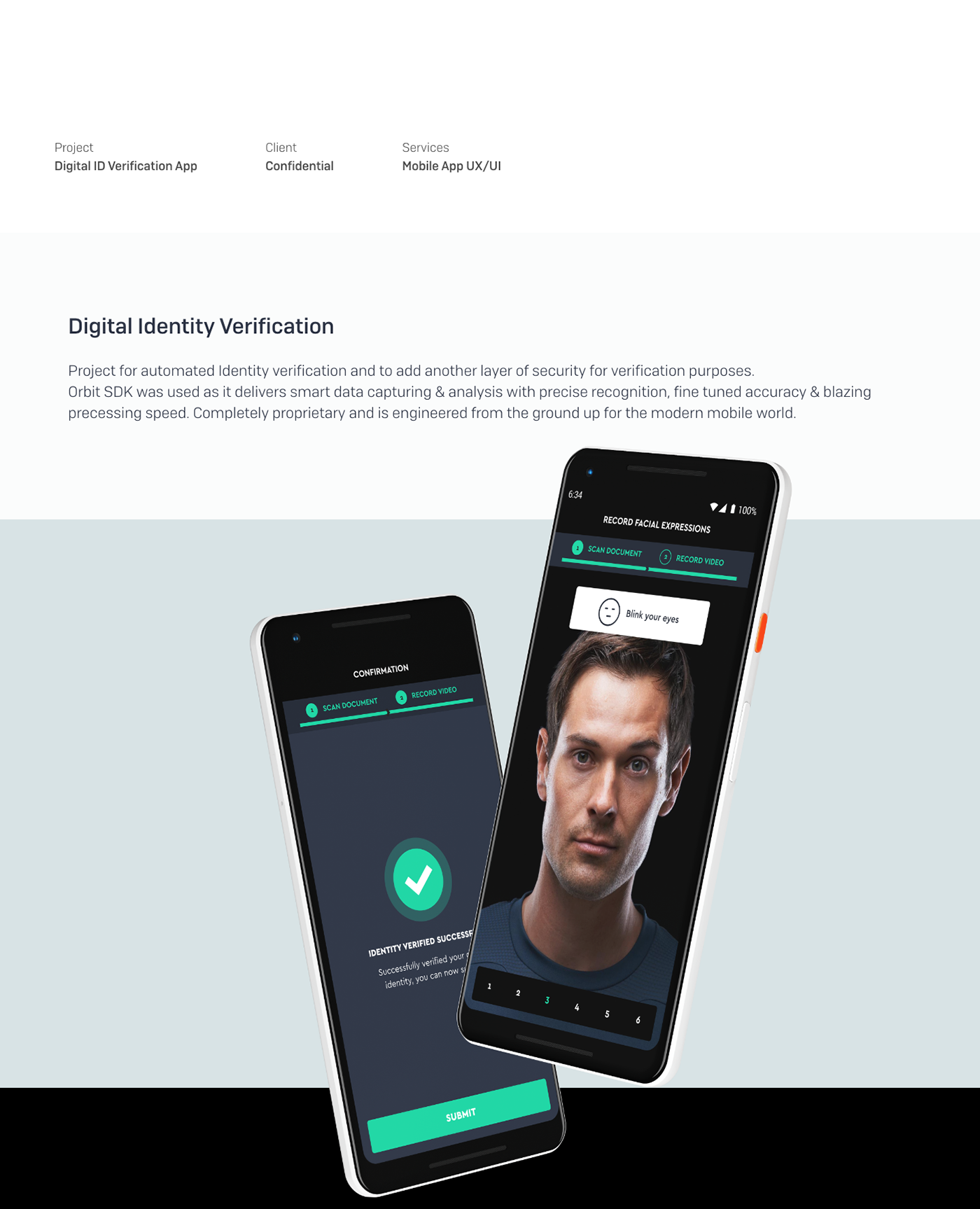 Automatic Human Verification App