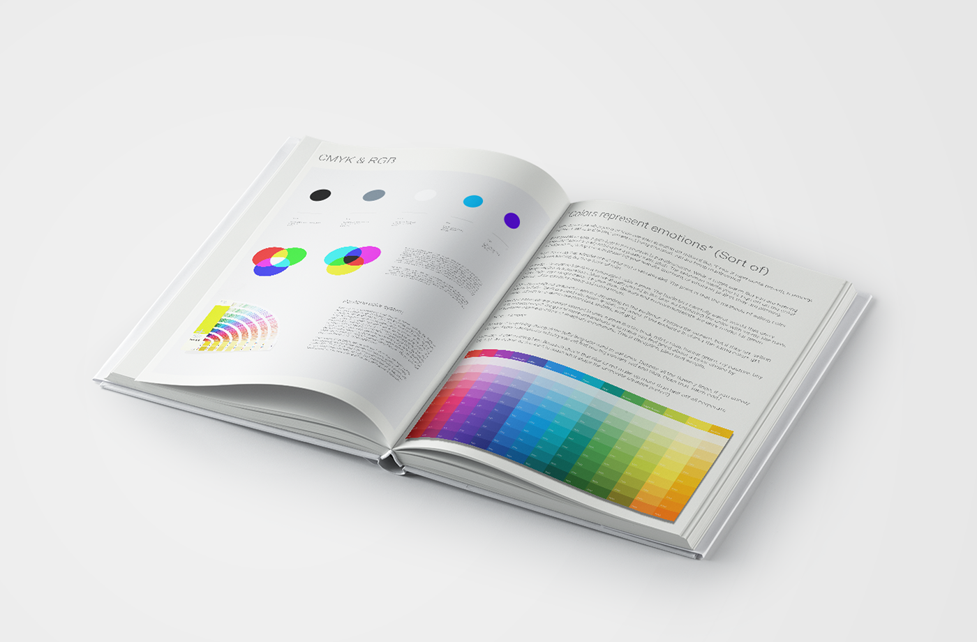 Color/colour in the modern era of design on Behance