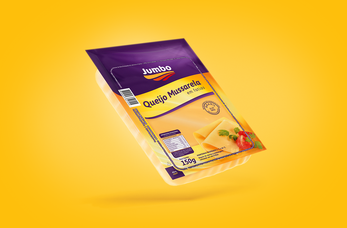 presunto Mussarela queijo Cheese mozzarela Food  FOOD INDUSTRY ham package Brasil pescados