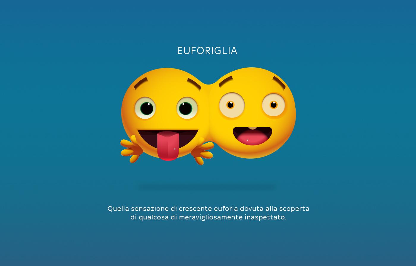 SKY Emoji emoticons skymoji emotions Mockup facebook iphone android imessage