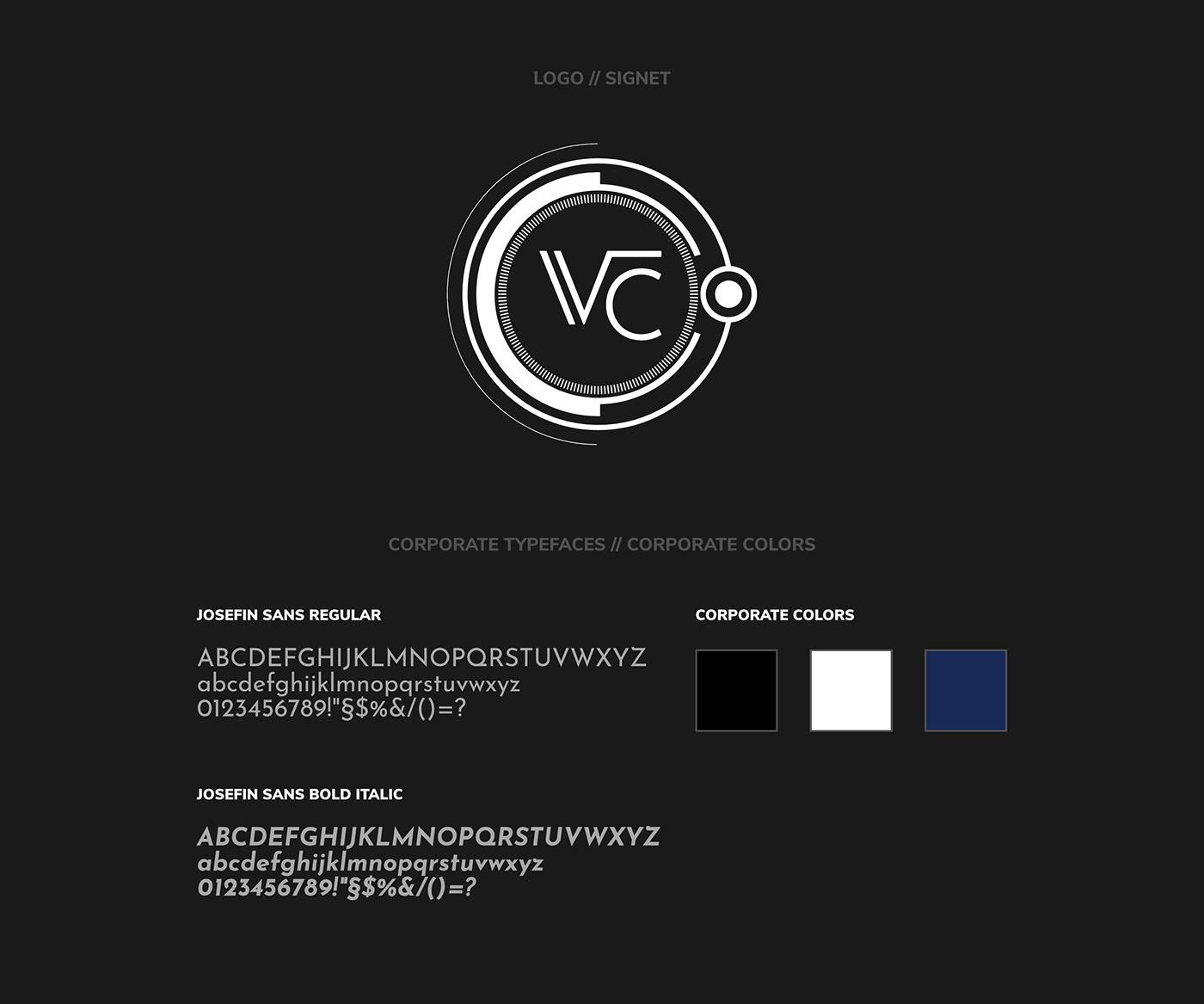 Virtual Circuit // Logo + Typeface