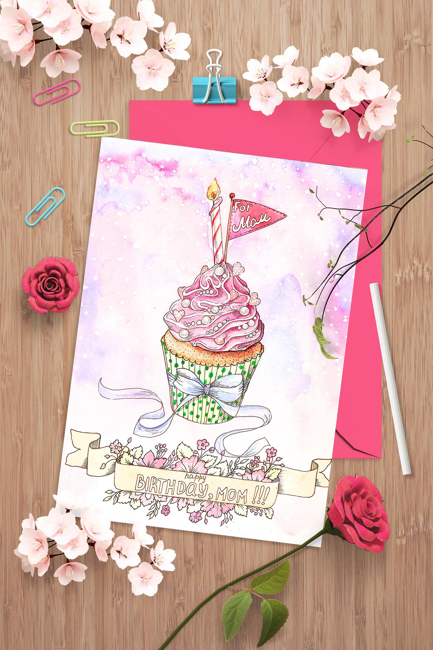 有美感的24個生日卡片設計欣賞