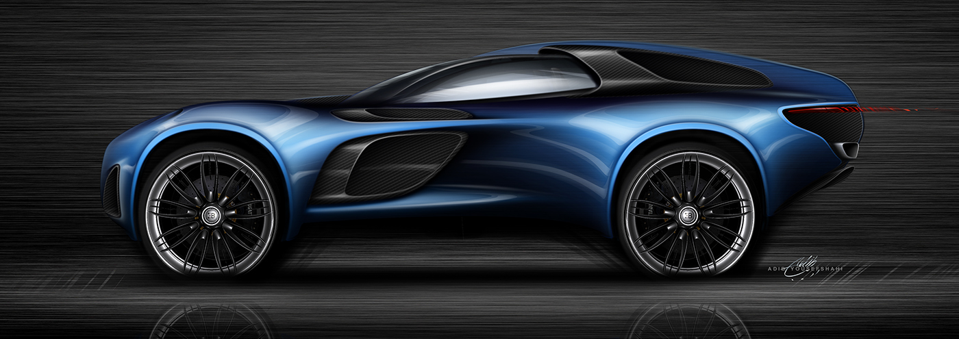 New Bugatti Suv On Behance