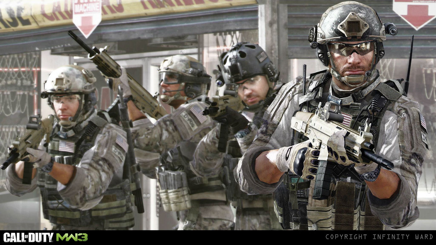 how to play call of duty mw3