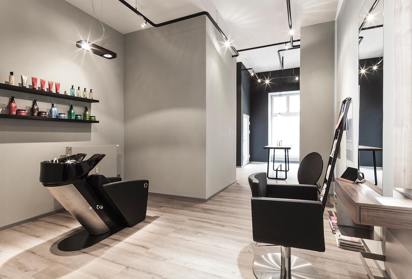 Bailas Contemporary Coiffure Interior Design On Behance