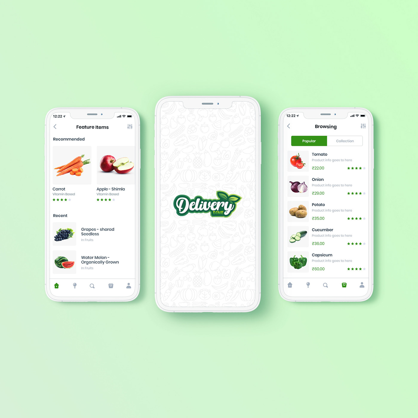 Delivery Dine Web App By Anzy Designs