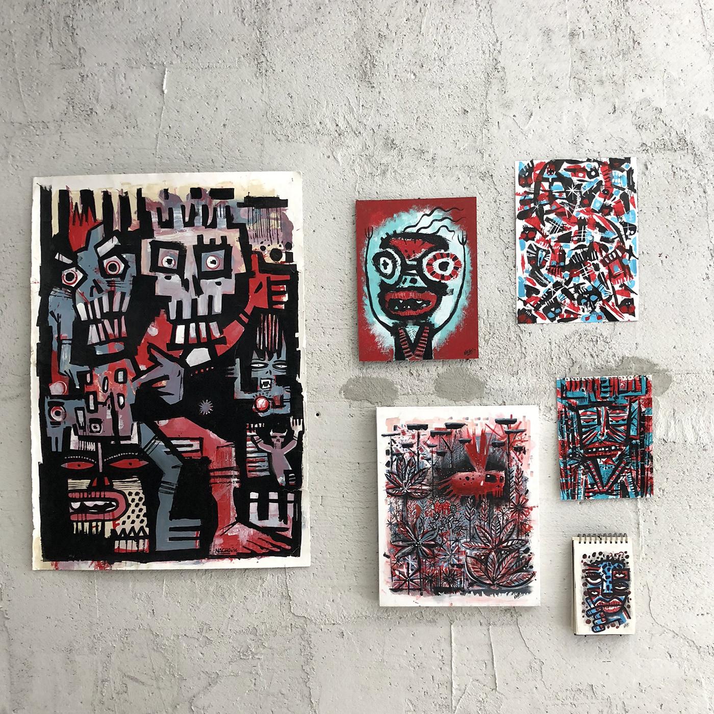 Image may contain: drawing, painting and cartoon