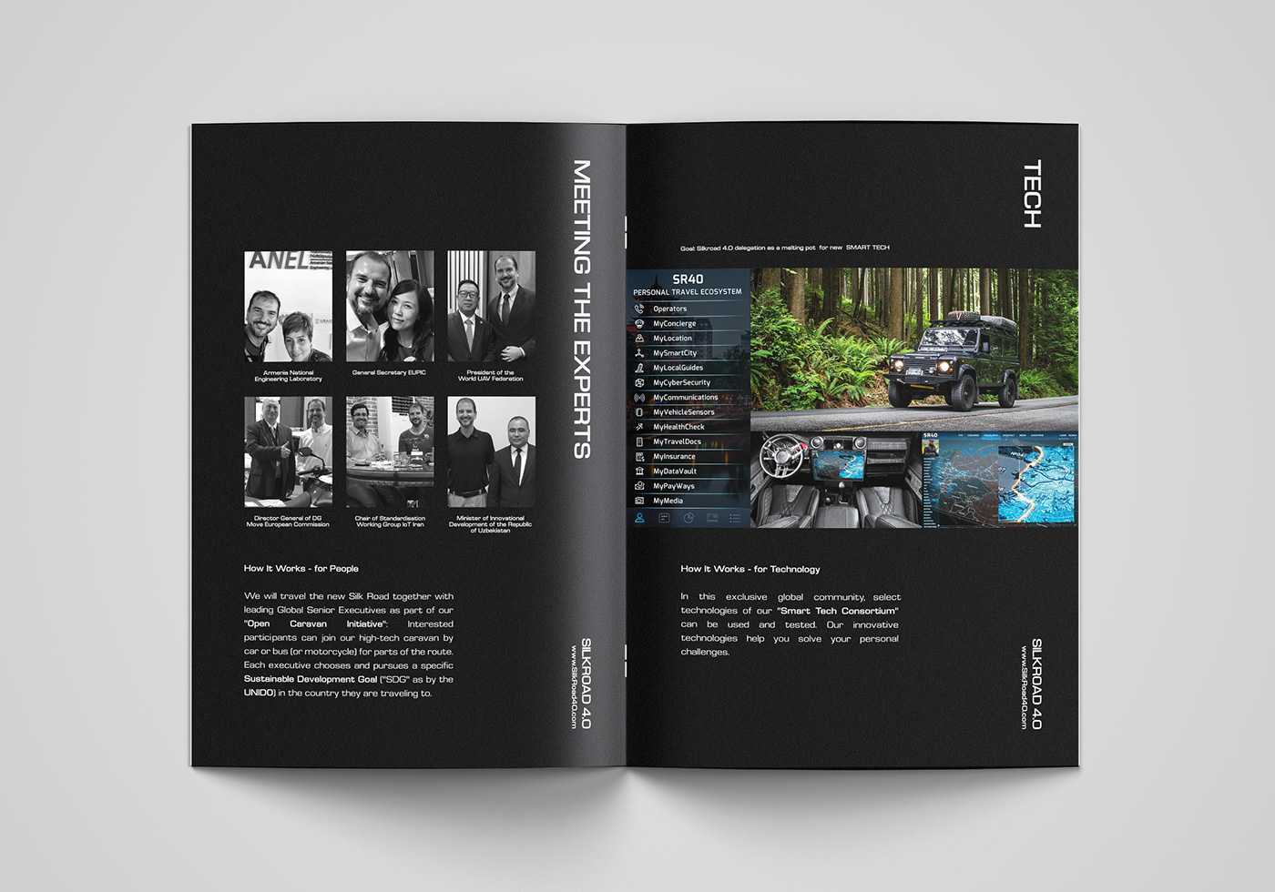 Silkroad 4 0 Brochure Layout Design On Behance