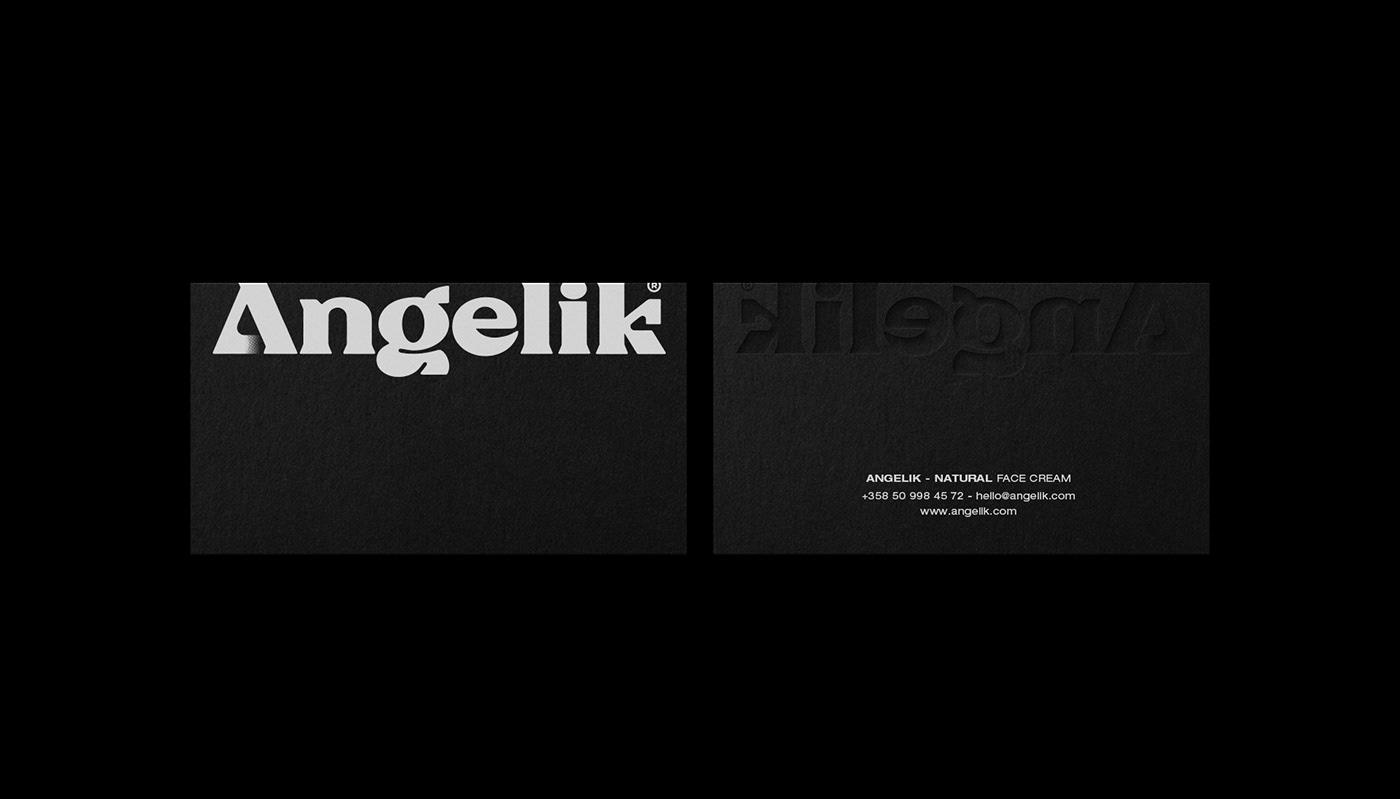 bio Blackletter bold cream natural package modern Typeface minimal Brutalism