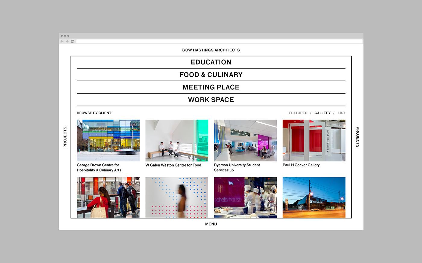 architecture,architects,Responsive Design,responsive website,gow hastings,Creative navigation,portfolio website