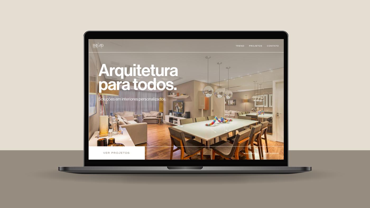 architecture ARQUITETURA brand branding  design identity interiores logo Logotipo studio