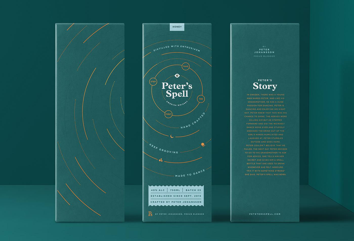 Packaging packaging design whiskey packaging Beverage Design Magic   movement Dynamic box design adobeawards