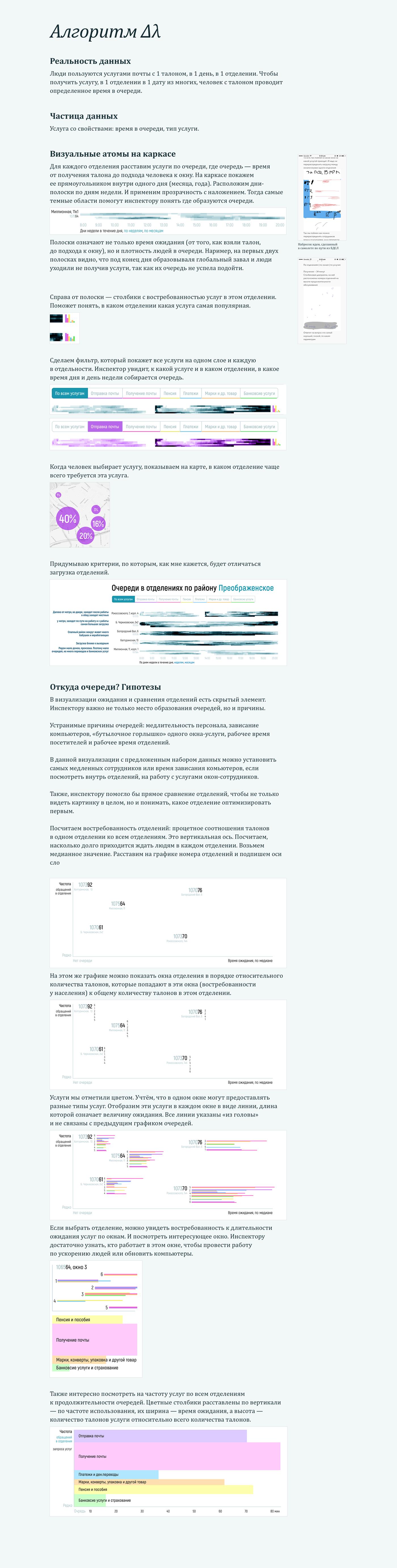 Data analitics data design exel dataviz visualization table post office