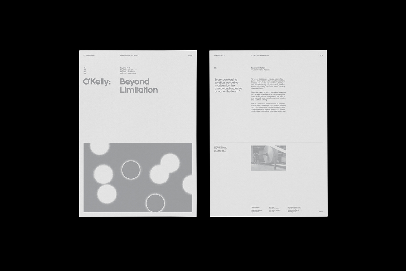 dots black and white vibration swiss Printing printing company Packaging Colourful  swiss graphic design