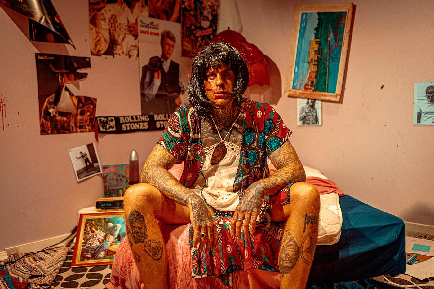 60s 70s bandphotos grease portraits pr photo Retro rock n roll Rockstar