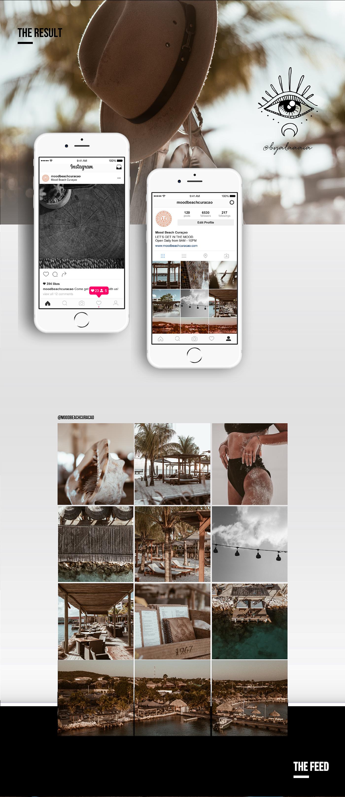 beach club identity instagram social media Content Producer Photography