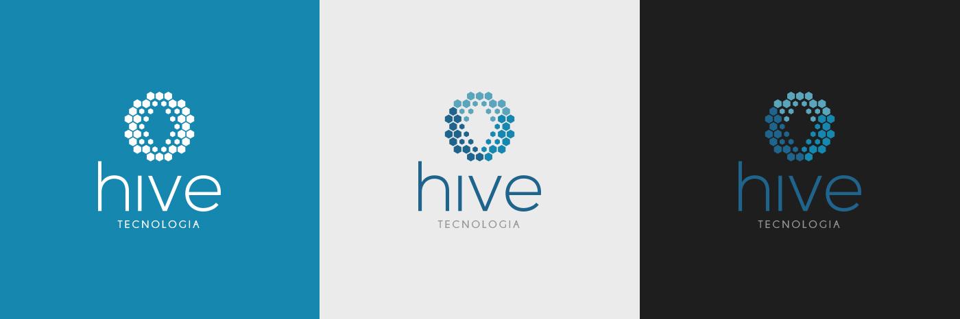 hive abelhas colmeia tecnologia Produtos Loja Virtual Ecommerce bee brand logo