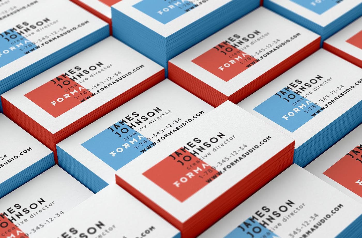Business Cards Mockups Pack Vol. 1 on Behance