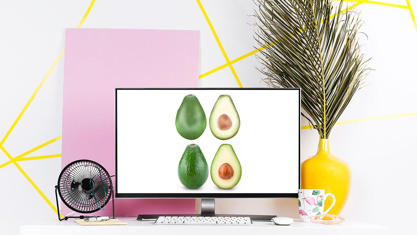 avocado ILLUSTRATION  photoshop animation