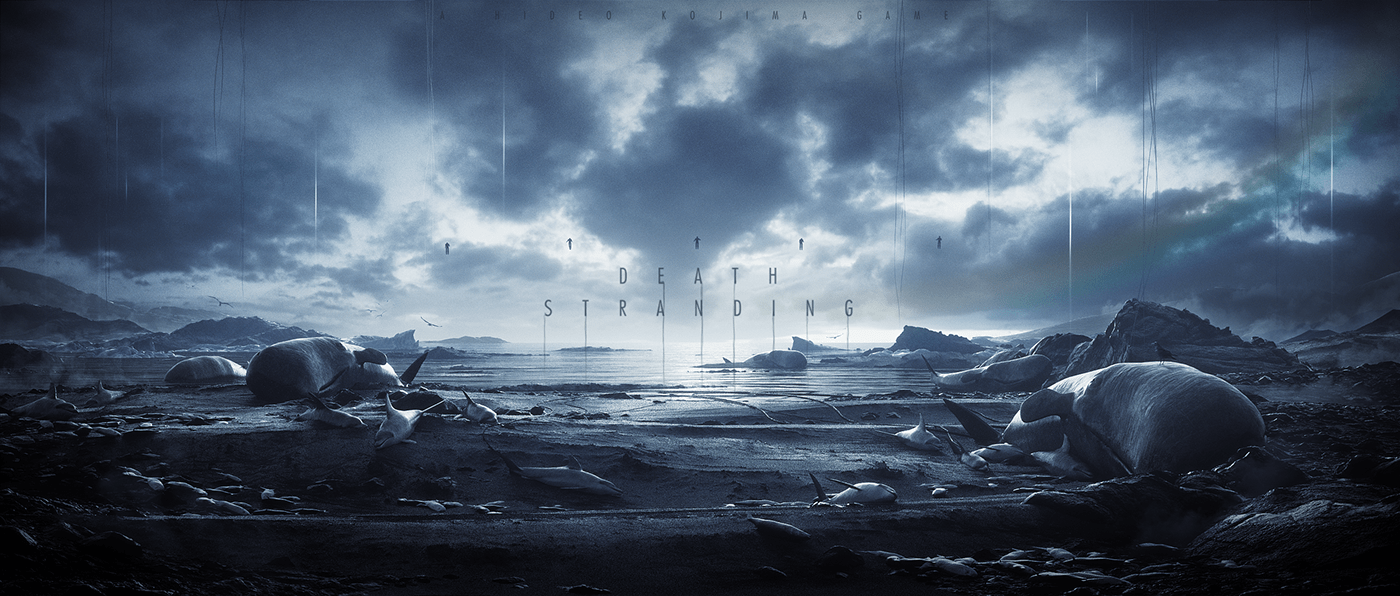 3D concept art game motion design Style Frame title sequence