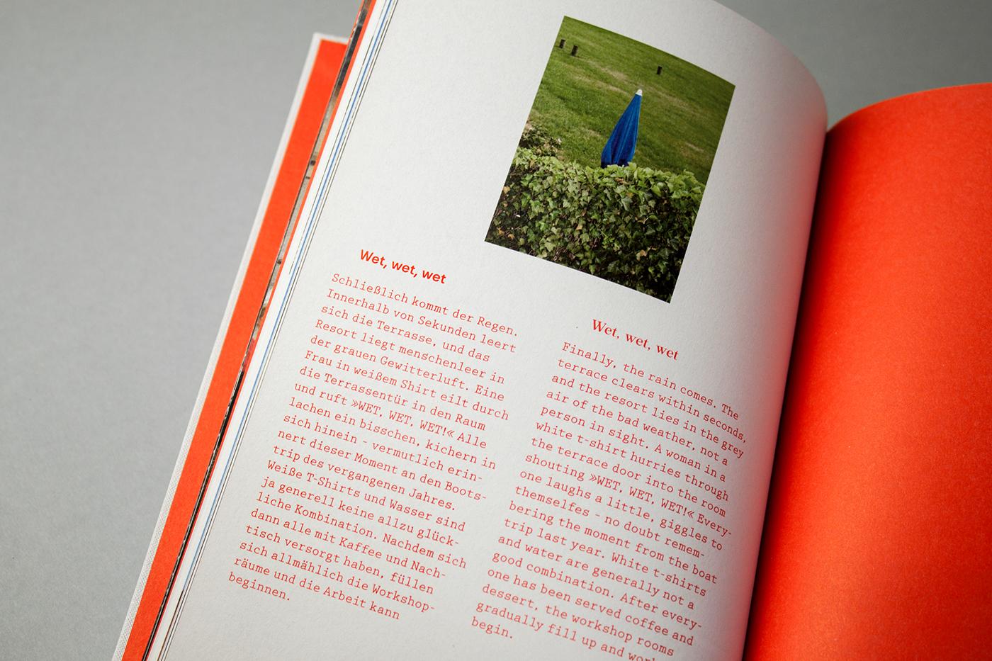 writing  text documentation interviews book design
