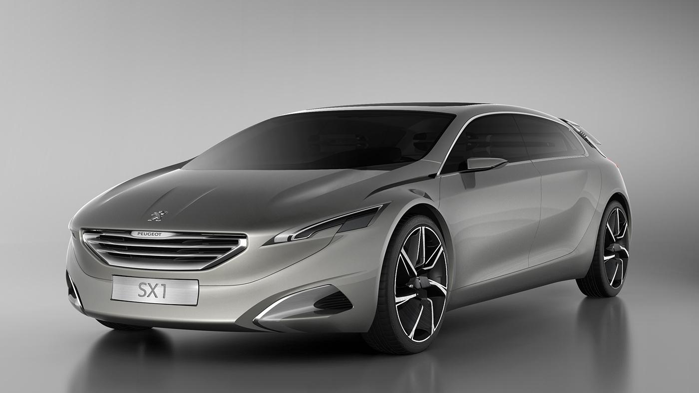 concept car peugeot hx1 2011 on behance. Black Bedroom Furniture Sets. Home Design Ideas