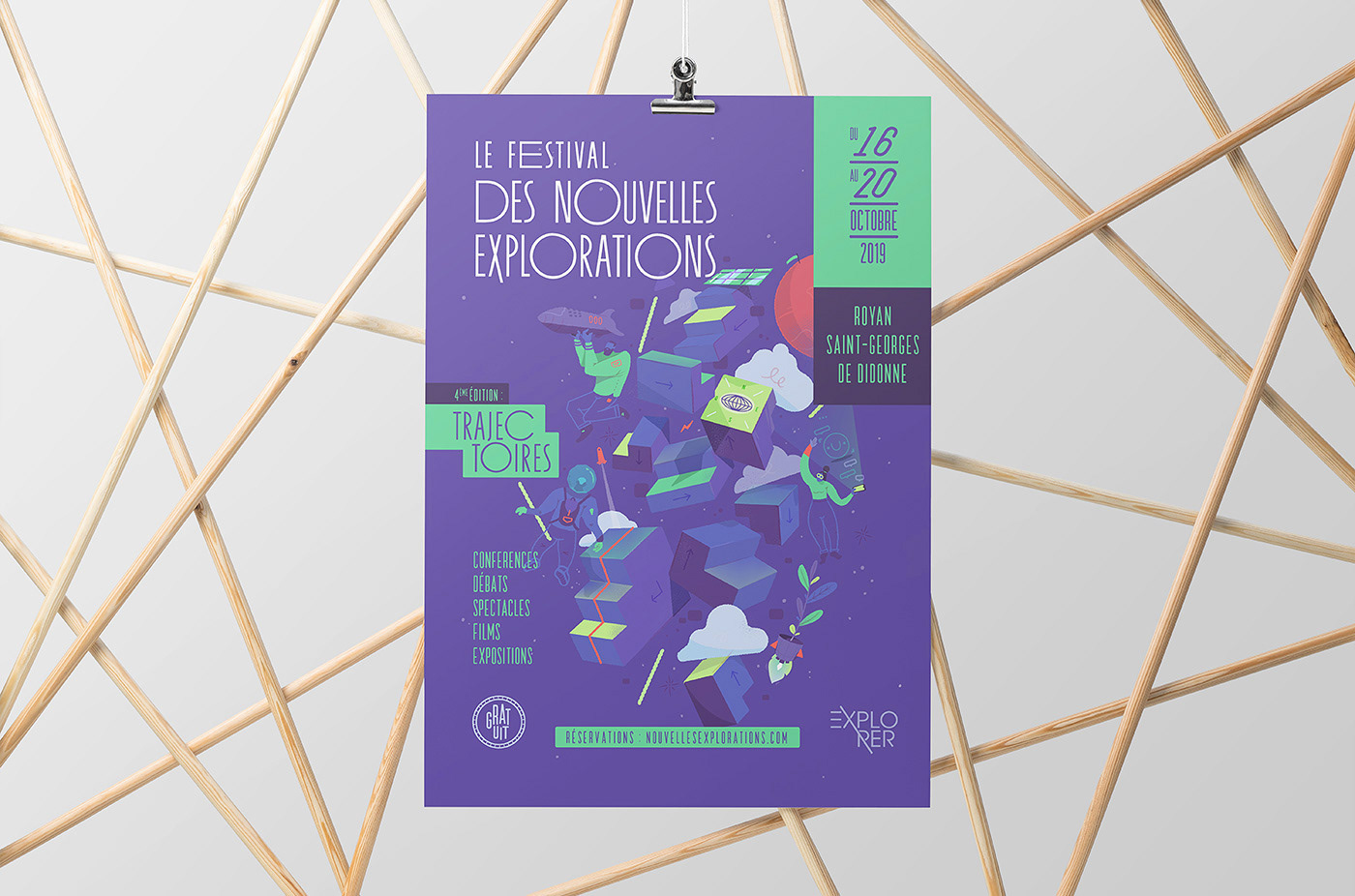 festival,print design ,Space ,science,gravity,humanity,planet,Event,science-fiction,conference