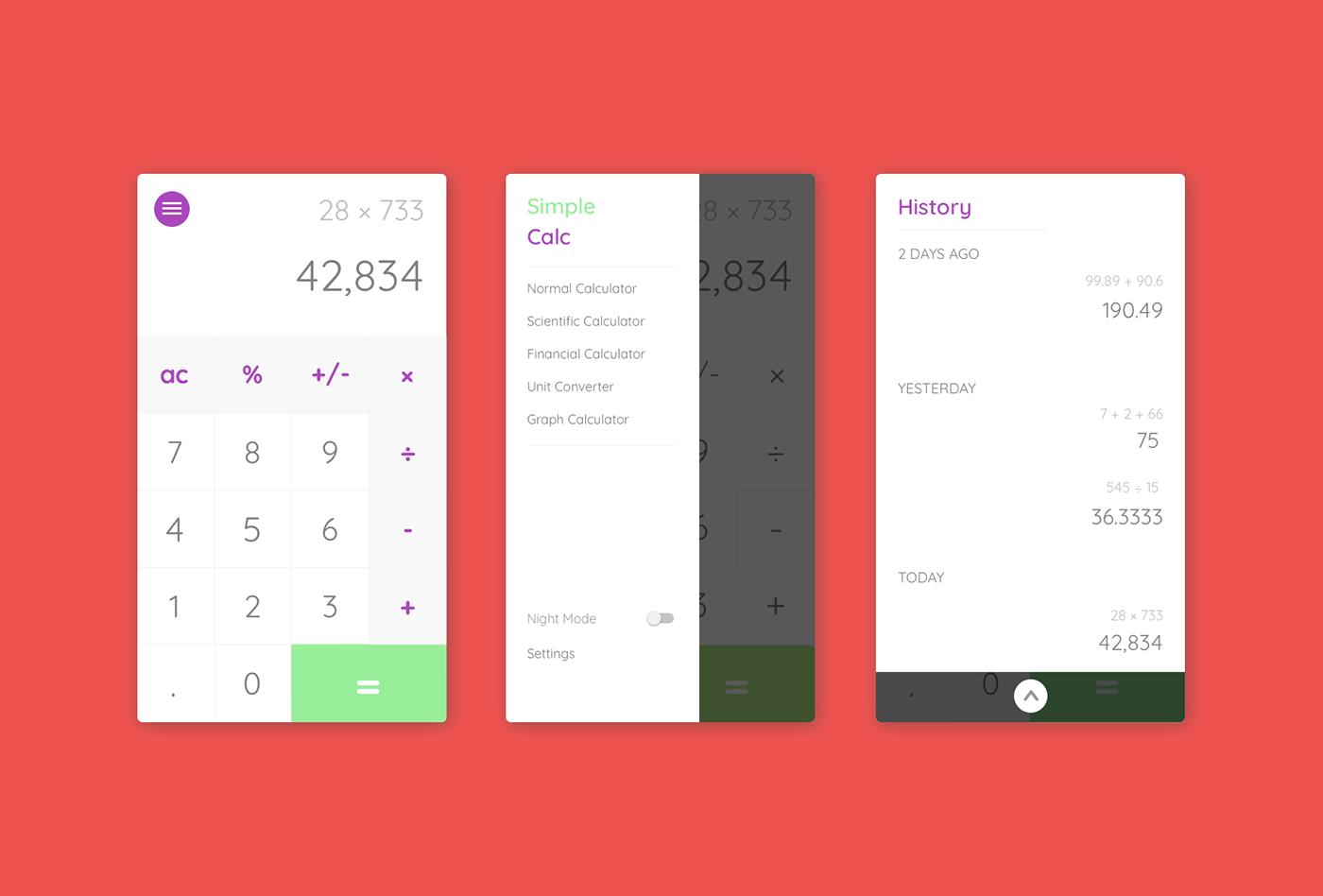 UI ux app design ios