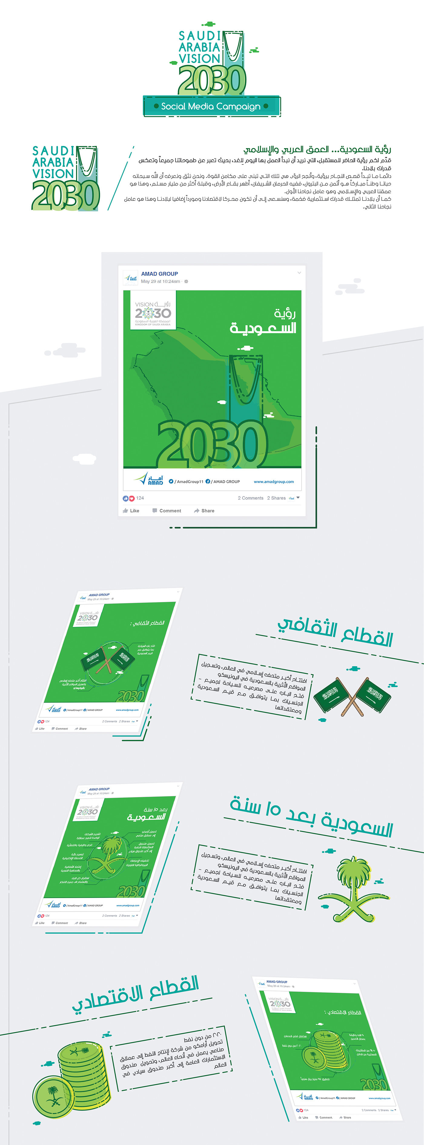 Saudi Arabia Vision 2030 Social Media Campaign - Saudi on
