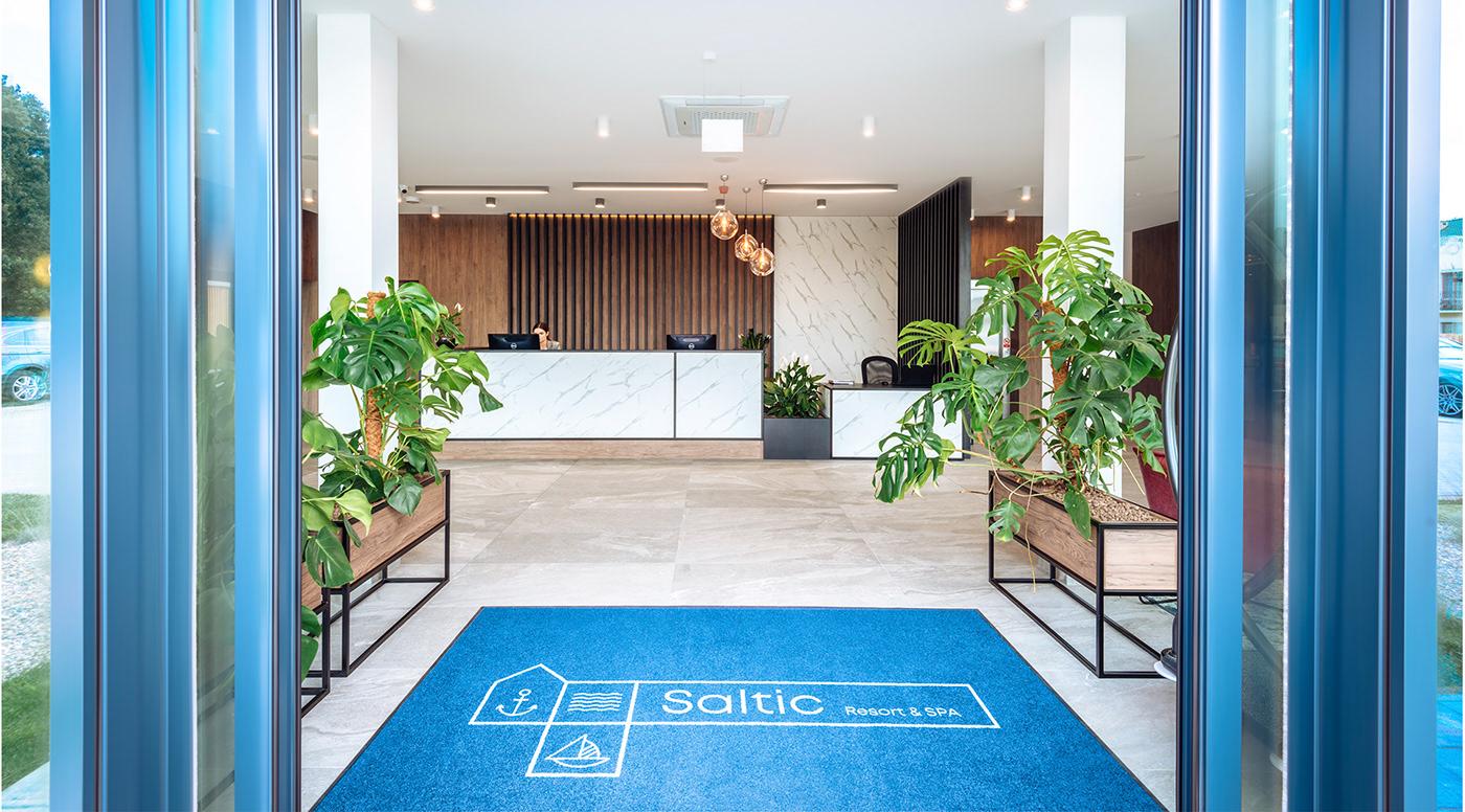 blue diffarts hotel Laskosz minimal resort sea Spa