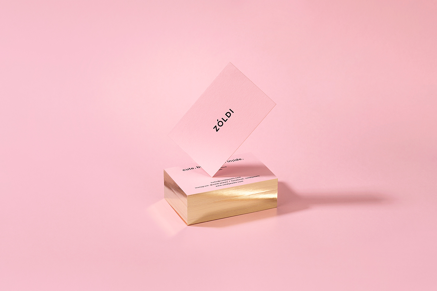 jewelry Packaging pink gold art direction  Photography  Printing