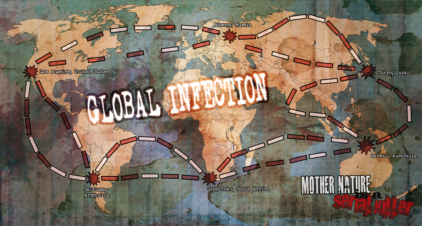 Global Infection (A Board Game) on Behance