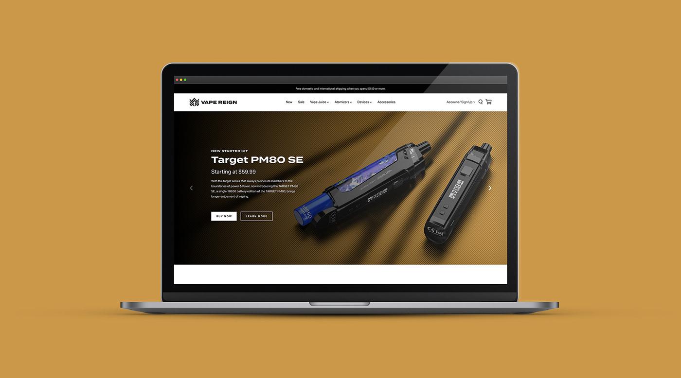 Vape E-Commerce Website