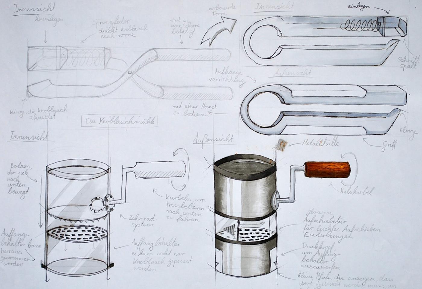 Drawing  copics portfolio industrial design