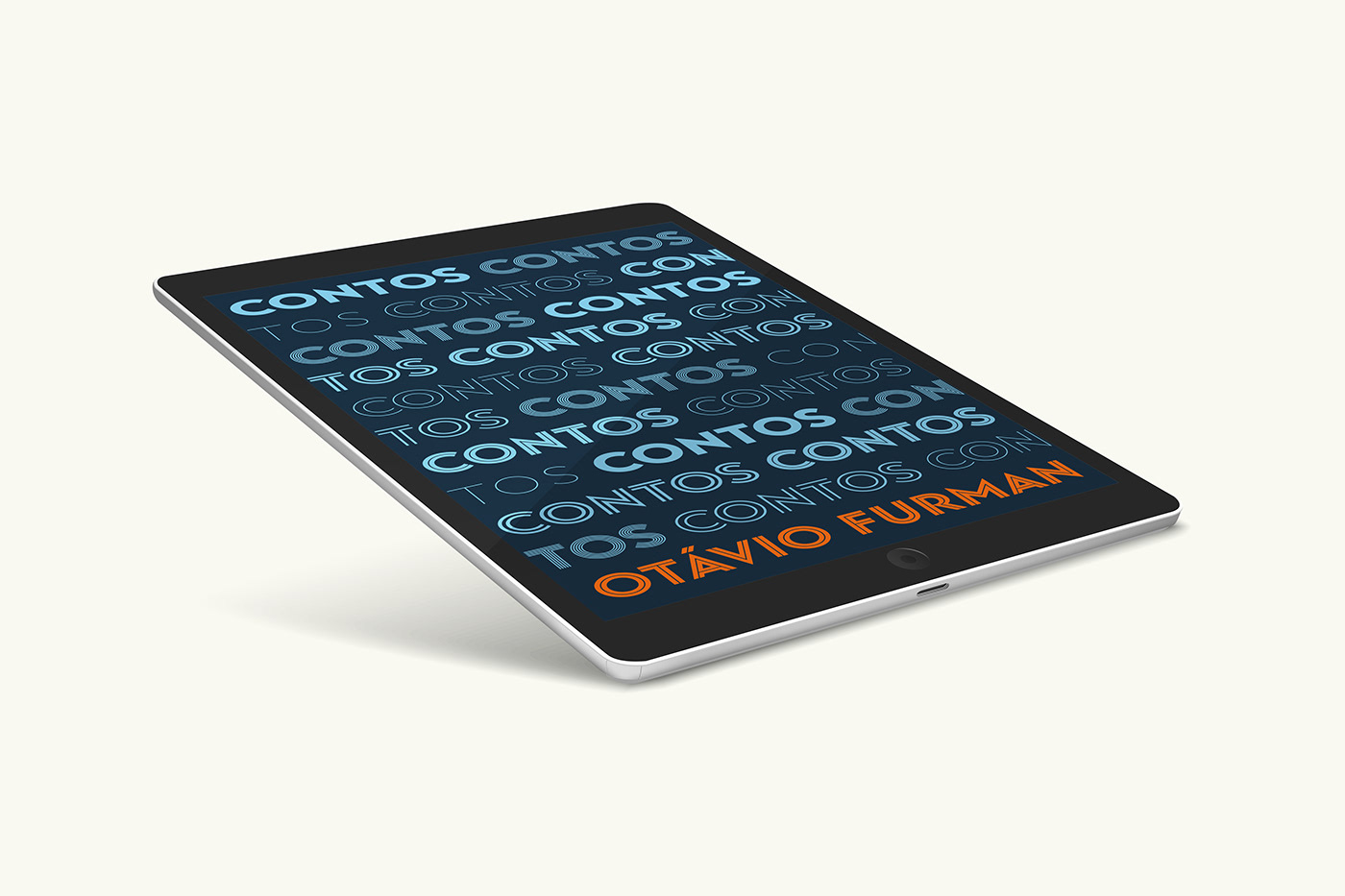 Book cover displayed on tablet device.