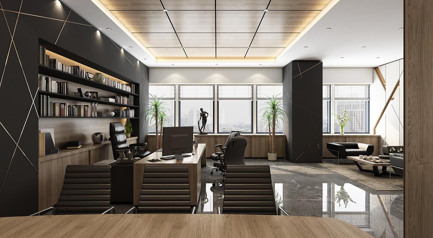 Ceo Office Design: Kuwait City On Behance