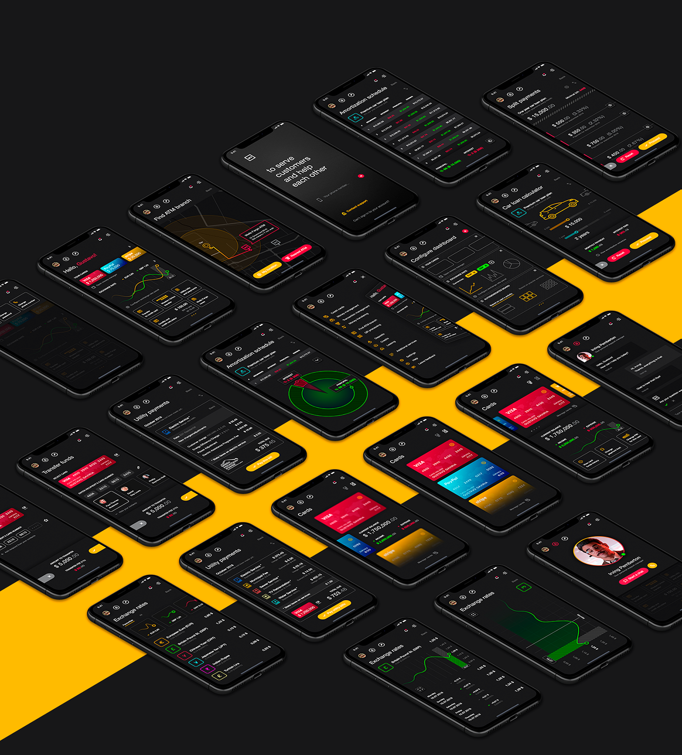 app,Bank,mobile,banking,uiux,interaction,application,ios,android,design