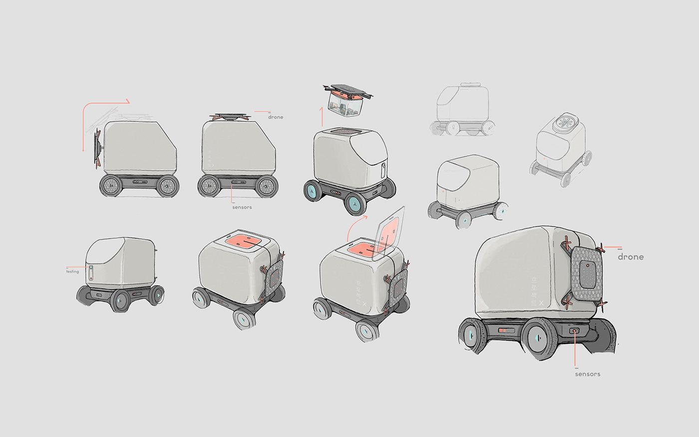 design industrial design  interaction product product design  Render
