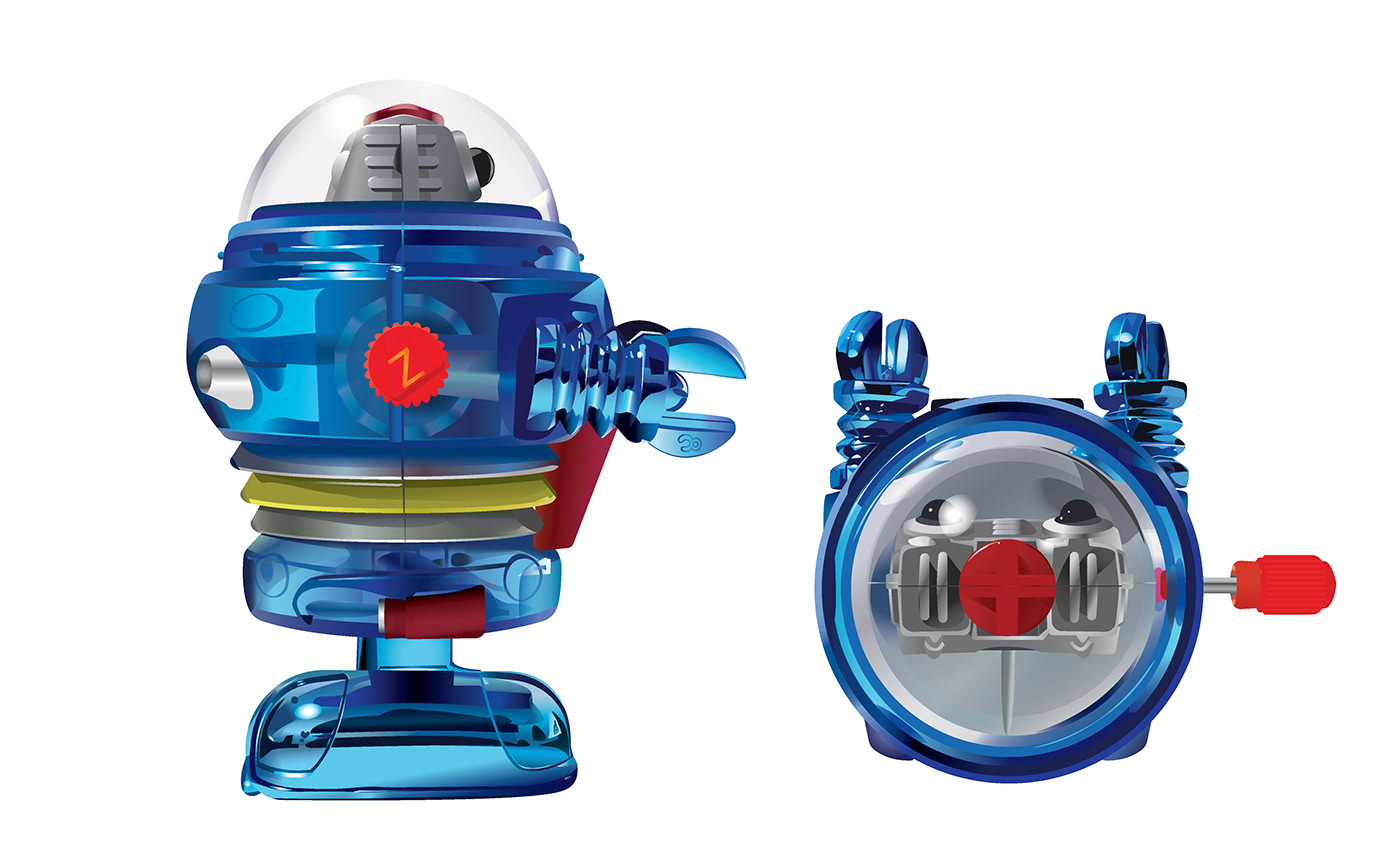 ILLUSTRATION  Illustrator toys