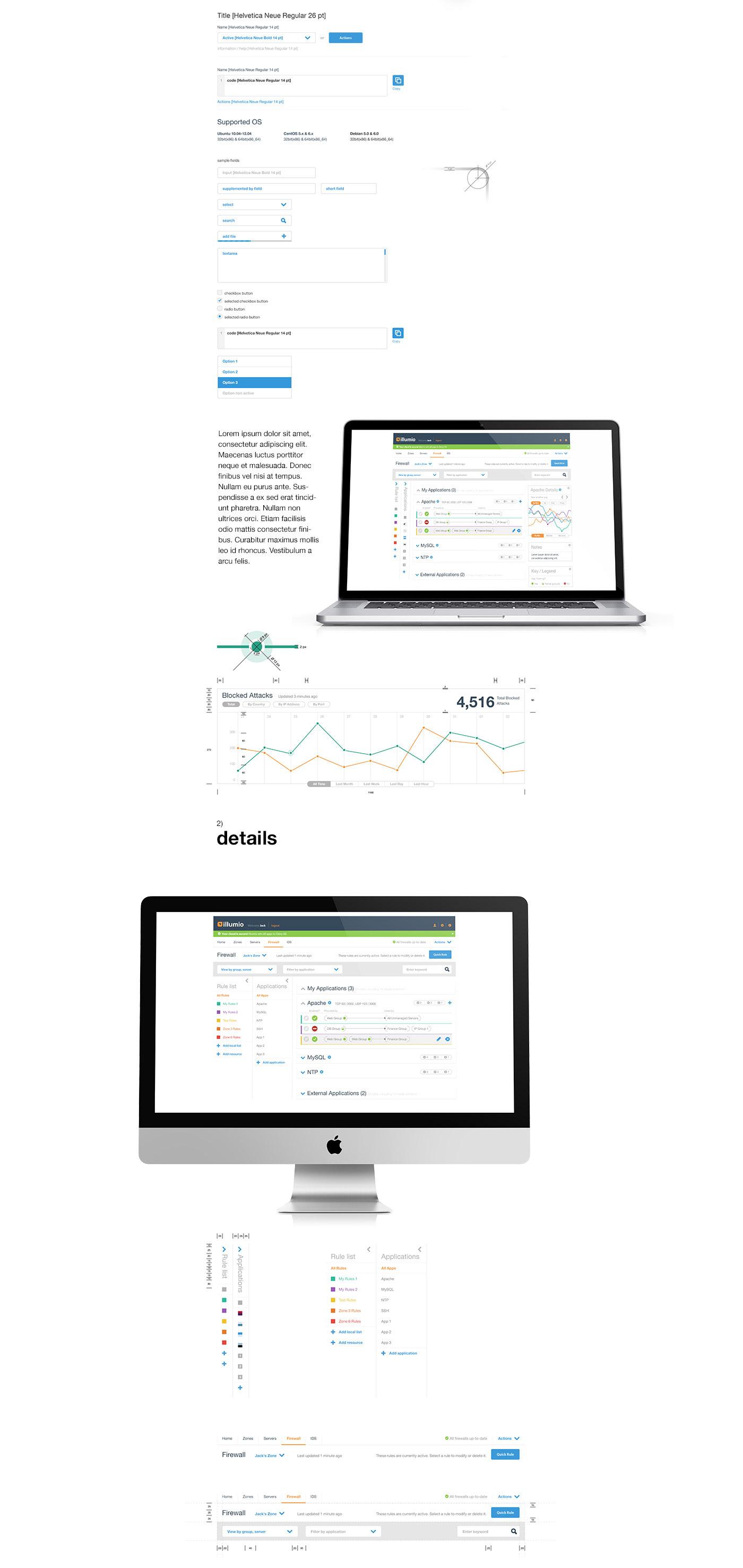 system Web www web aplication app application illumio