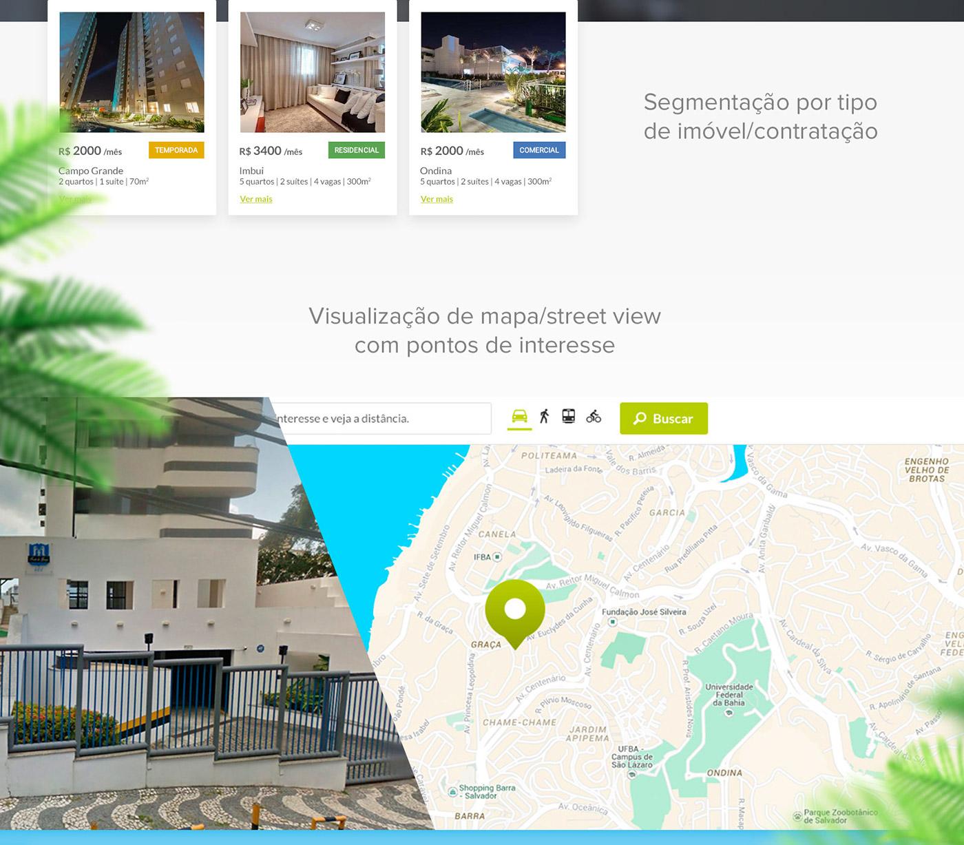 site Aluguel imóvel rental Rent home