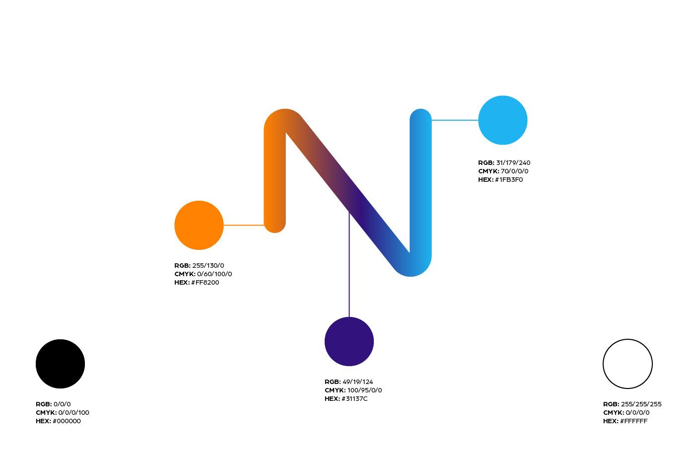 paralela - Telenet brand Colors