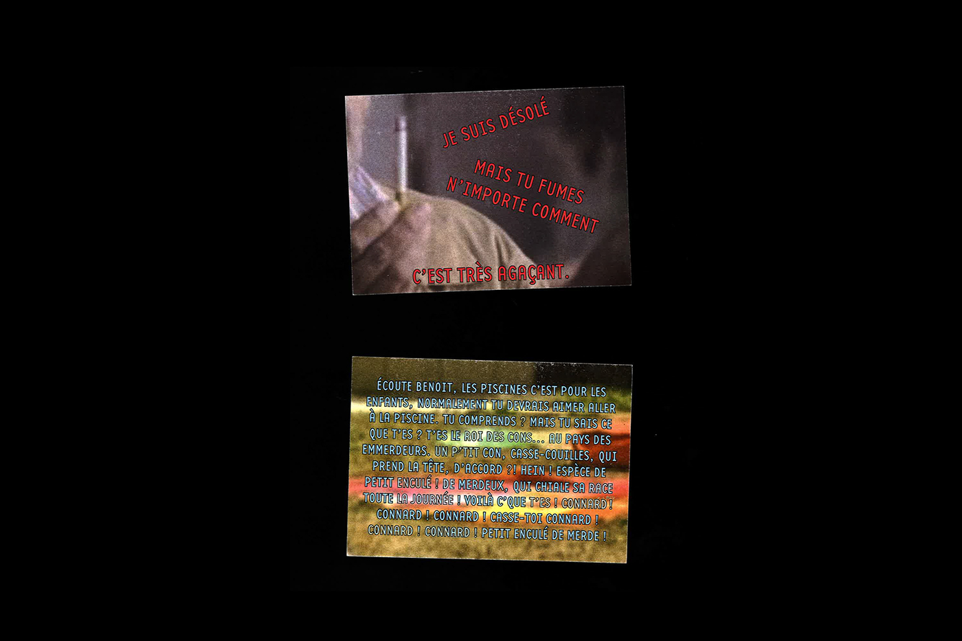 print postcards cartes postales protocol generative vernaculaire Movies Cinema films camera frame Travel trip souvenir