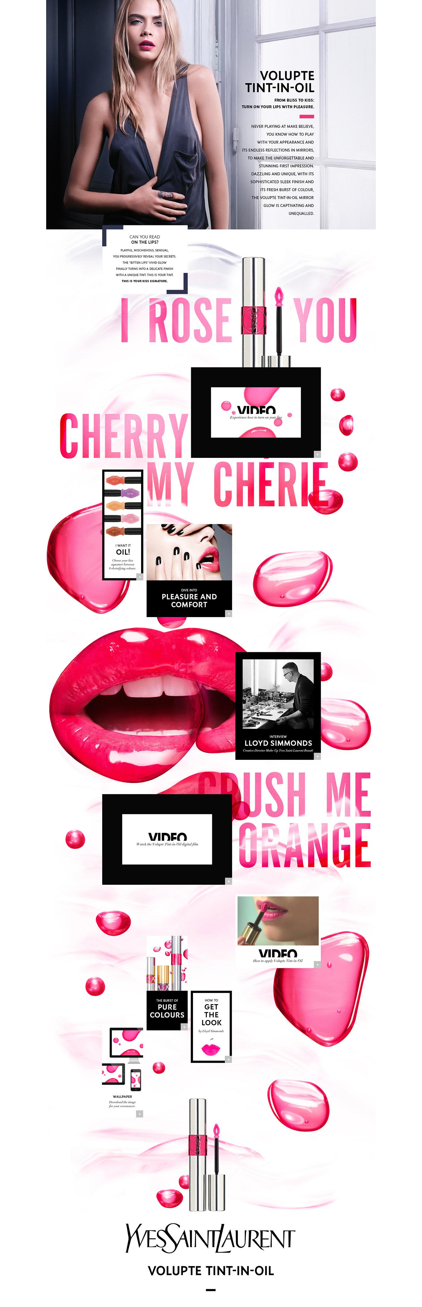 luxe beauty onepage Website
