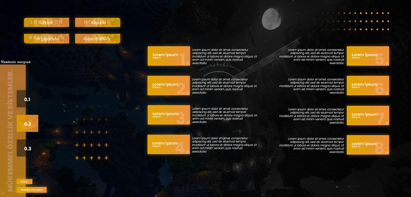 design hazır konu konu tasarımı Kreof minecraft mistero tasarım thread thread design